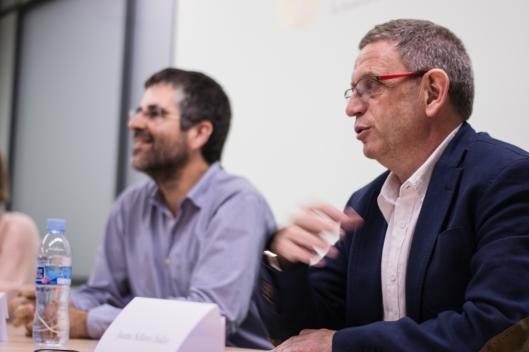Dr. Albert Casasa, Cap d'Estudis UDAceba i Dr. Jaume Sellarès, Gerent