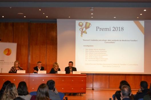Presentació premi 2018